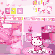 Комната для Hello Kitty